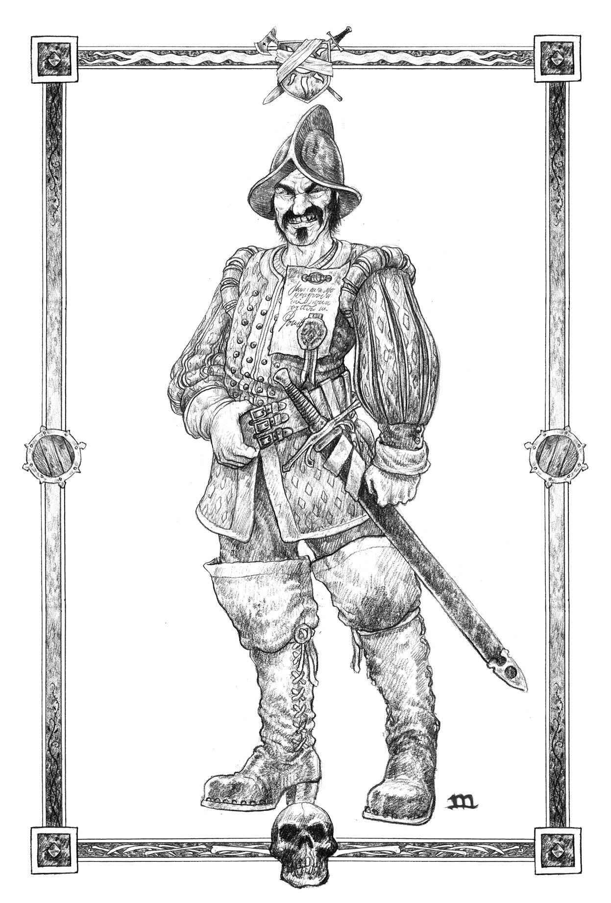 zweihander grimandperilous.com warhammer retroclone fantasy roleplay