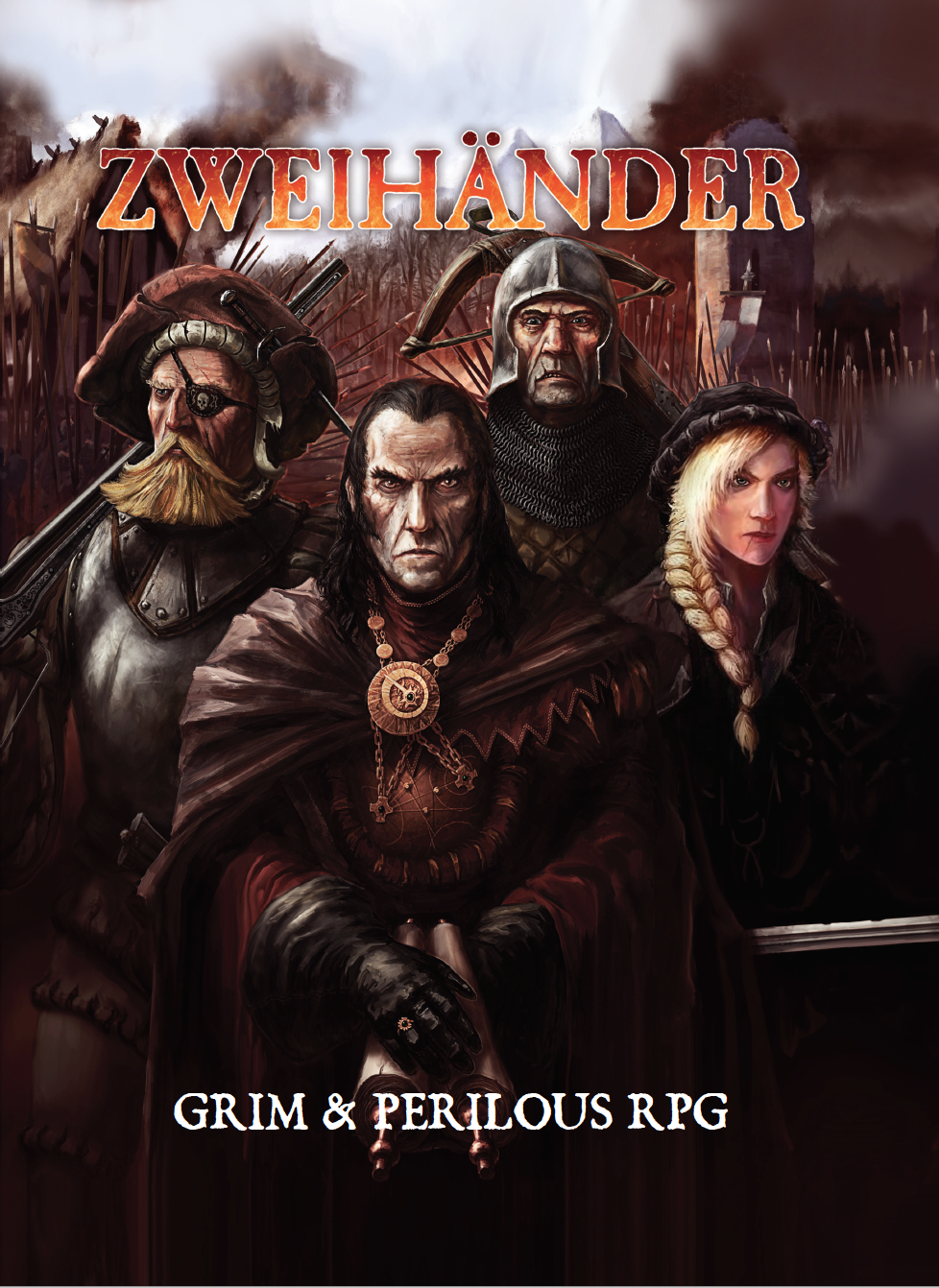 ennies awards 2018 best game product of the year zweihander rpg grim and perilous rpg Warhammer Fantasy Roleplay Fourth Edition Cubicle 7 Zweihander Grim & Perilous RPG DriveThruRPG.com RPGNow.com grimandperilous.com warhammerfantasyroleplay.com