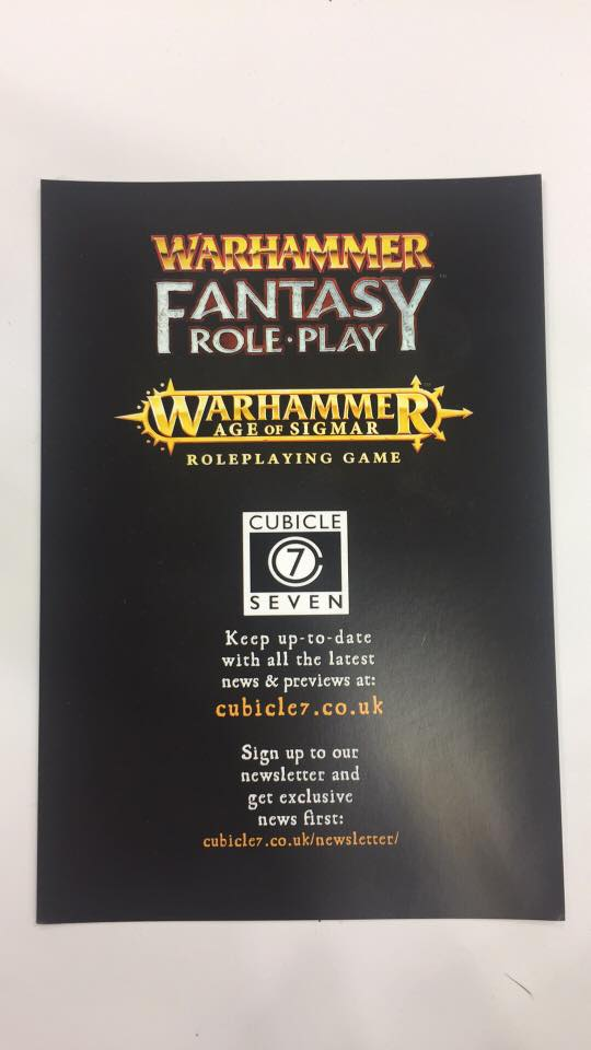 warhammer roleplay 3rd edition pdf