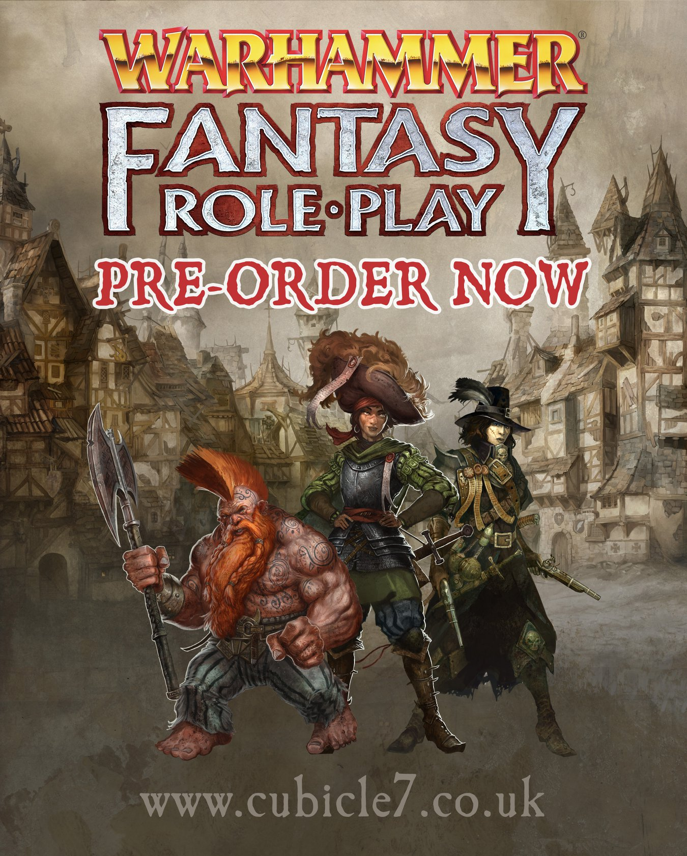 cubicle 7 warhammer fantasy roleplay fourth edition #wfrp4e #ZweihanderRPG grimandperilous.com warhammerfantasyroleplay.com zweihander grim & perilous