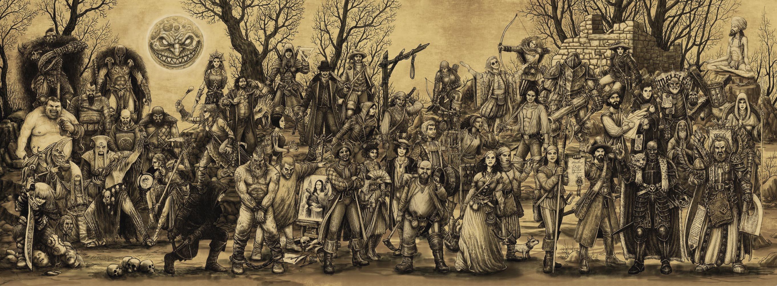 Roll20 Spotlight Encounter Roleplay Blackhearts Zweihander RPG Powered by Zweihander #TetsuboRPG Tetsubo RPG tetsubo.com main gauche RPG MainGauche grim and perilous srd.grimandperilous.com zweihander rpg #ZweihanderRPG #MainGauche #GrimAndPerilous #GrimAndPerilousLibrary #DarkFantasy grimandperilous.com warhammer fantasy roleplay retroclone warhammerfantasyroleplay.com #WFRP #DND
